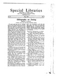 Special Libraries, May 1922 by Special Libraries Association