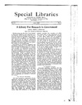 Special Libraries, June 1922