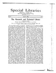 Special Libraries, October 1922
