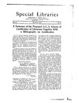 Special Libraries, December 1922 by Special Libraries Association