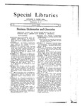 Special Libraries, January 1923