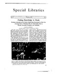 Special Libraries, February 1923