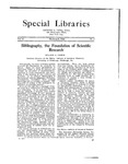 Special Libraries, March-April 1923