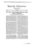 Special Libraries, May 1923 by Special Libraries Association
