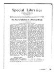 Special Libraries, June 1923 by Special Libraries Association