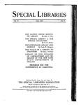 Special Libraries, June 1924 by Special Libraries Association