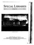 Special Libraries, December 1924 by Special Libraries Association