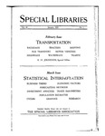Special Libraries, January 1925 by Special Libraries Association