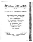 Special Libraries, March 1925 by Special Libraries Association