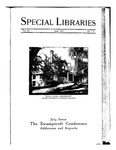 Special Libraries, June 1925 by Special Libraries Association