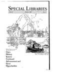 Special Libraries, January 1926
