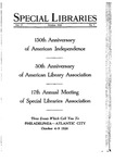 Special Libraries, October 1926