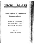 Special Libraries, November 1926 by Special Libraries Association