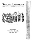 Special Libraries, February 1927