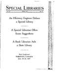 Special Libraries, March 1927