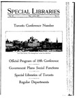 Special Libraries, May-June 1927