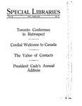Special Libraries, July-August 1927