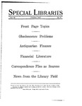 Special Libraries, October 1927