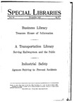 Special Libraries, November 1927