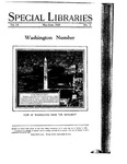 Special Libraries, May-June 1928