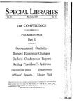 Special Libraries, May-June 1929