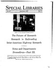 Special Libraries, September 1929 by Special Libraries Association