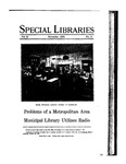 Special Libraries, November 1930 by Special Libraries Association
