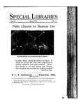 Special Libraries, March 1931 by Special Libraries Association
