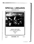 Special Libraries, November 1931 by Special Libraries Association