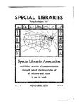 Special Libraries, November 1932