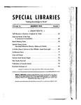 Special Libraries, March 1935