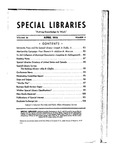 Special Libraries, April 1935 by Special Libraries Association