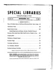Special Libraries, September 1935
