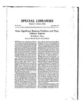 Special Libraries, July-August 1937