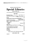 Special Libraries, July-August 1939