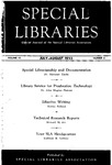 Special Libraries, July-August 1952