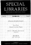Special Libraries, October 1952 by Special Libraries Association