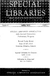 Special Libraries, April 1953 by Special Libraries Association
