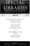 Special Libraries, April 1953