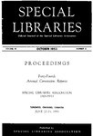 Special Libraries, October 1953 by Special Libraries Association