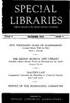 Special Libraries, December 1953
