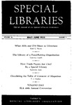 Special Libraries, May-June 1955 by Special Libraries Association