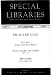 Special Libraries, July-August 1955