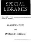 Special Libraries, March 1956