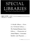 Special Libraries, May-June 1956