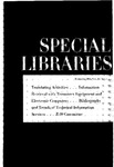 Special Libraries, February 1963 by Special Libraries Association