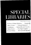 Special Libraries, May-June 1963 by Special Libraries Association