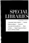 Special Libraries, December 1963
