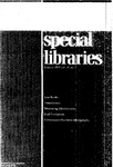 Special Libraries, January 1979 by Special Libraries Association
