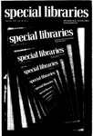 Special Libraries, Summer 1987 by Special Libraries Association